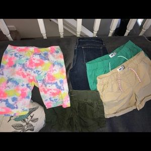 Bundle of 5 girls shorts